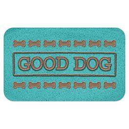 Napfunterlage PVC Good Dog türkis
