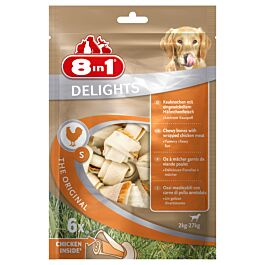 8in1 Delights Pack S 6 Stück 240g