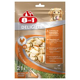 8in1 Delights Pack XS 21 Stück 252g