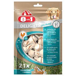 8in1 Dental Delights XS 21 Stück