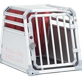 4pets Hundebox Pro 1 S Einzelbox Alu