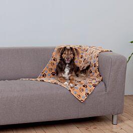 Couverture Laslo, 100 × 70 cm, beige
