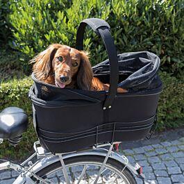 Trixie Fahrradkorb für Hunde 29x49x60cm schwarz