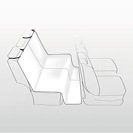 Trixie Couverture pour sièges de voiture 140x120cm beige