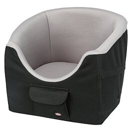 Trixie Siège de voiture, 45 × 39 × 42 cm, noir/gris