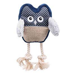 Trixie Eule aus Polyester/Baumwollgemisch, 24cm