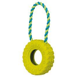Trixie Reifen am Seil schwarz