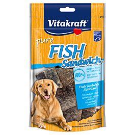 Vitakraft Fish Sandwich Cabillaud 80g