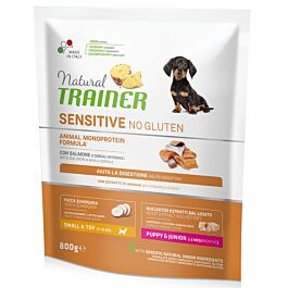 Trainer Hundefutter Sensitive Small & Toy Junior Salmon 800g