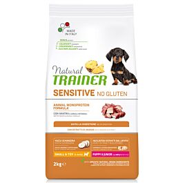 Trainer Hundefutter Sensitive No Gluten Small & Toy Puppy & Junior Ente 2kg