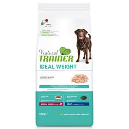 Trainer Hundefutter Ideal Weight Medium & Maxi White Meat 12kg