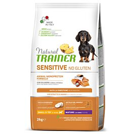 Trainer Hundefutter Sensitive No Gluten Small & Toy Maturity Lachs 2kg