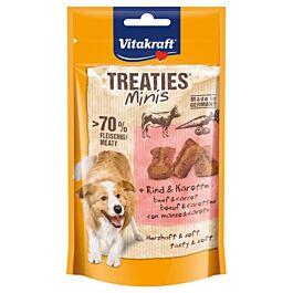Vitakraft Hundesnack Treaties Minis Rind & Karotte 48g