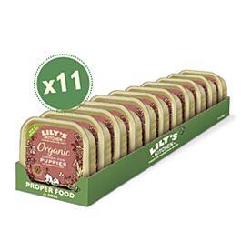 Lily's Kitchen Nassfutter für Welpen Organic Huhn 11x150g