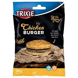 Friandises pour chiens Chicken Burger 9cm 140g