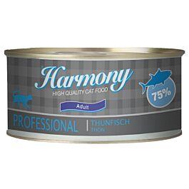 Harmony Cat Professional Nassfutter Thunfisch 24x75g