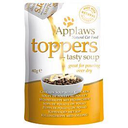Applaws Topper Chicken soup 3x40g Katzenfutter