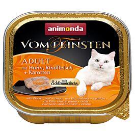 animonda Vom Feinsten Schlemmerkern Adult Huhn, Rind & Karotte 100g