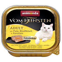 animonda Vom Feinsten Schlemmerkern Adult Pute, Rind & Karotte 100g