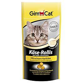 GimCat Katzensnack Käse Rollis 40g