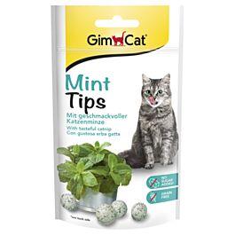 GimCat Katzensnack Mint Tips mit Katzenminze 40g