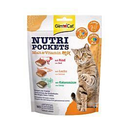 GimCat Katzensnack Nutri Pockets Malt-Vitamin Mix 150g