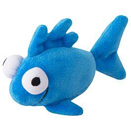 Rogz Katzenspielzeug Catnip Plush Fish blau