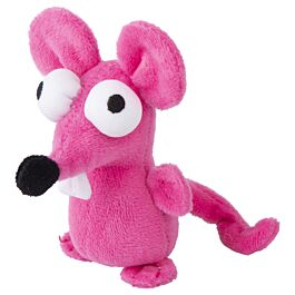 Rogz Katzenspielzeug Catnip Plush Mouse pink