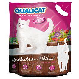 QUALICAT Litière pour chats Silice agglomérante Qualiclean 7,5l