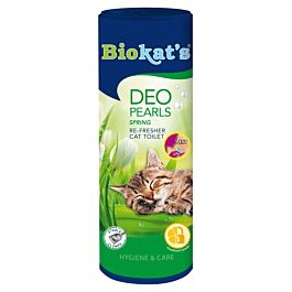 Biokat's Deo Pearls Spring Katzentoilette 700g