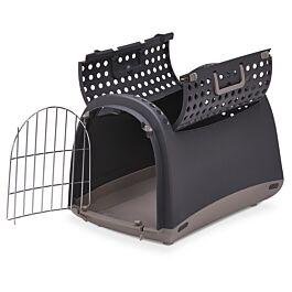Linus Cabrio Transportbox braun