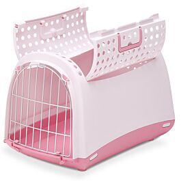 Linus Cabrio Box de transport rose