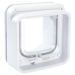 SureFlap Mikrochip Katzenklappe Connect weiss 14.2x12cm
