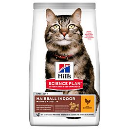 Chat Science Plan Mature Adult 7+ Hairball Indoor 2,5kg