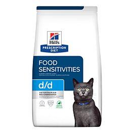 Hill's VET Katze Prescription Diet d/d Food Sensitivies Ente 1.5kg