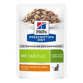 Hill's Prescription Diet Feline Metabolic Huhn 12x85g