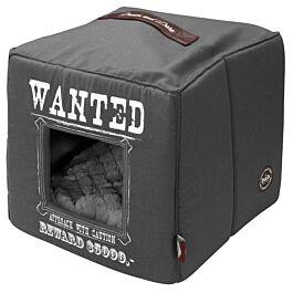 D&D Pet-Cube Wanted 40x40x40cm grau