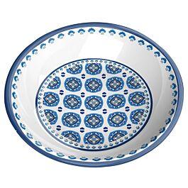 Katzennapf Melamin-Schale Maroccan Indigo