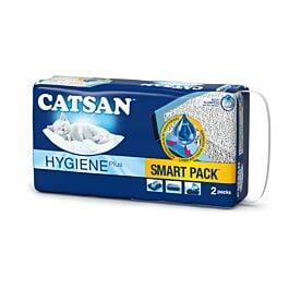 Catsan Smart Pack Einlegepack für Katzentoiletten 2x4l