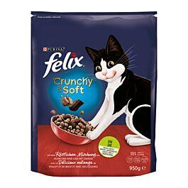 Felix Crunchy & Soft Rind, Huhn & Gemüse 950g
