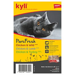 kyli PureFresh Multipack Adult 4x3x85g