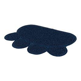 Trixie Paillasson Patte PVC, bleu foncé