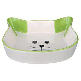 Trixie Keramiknapf Katzengesicht 0.25l