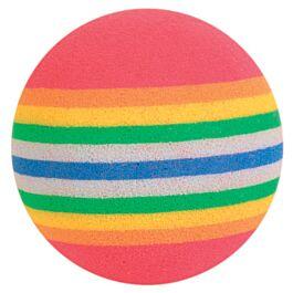 Trixie Balles arc-en-ciel D=4 cm 4pcs