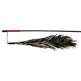 Trixie Spielangel mit Pfauenfeder 47cm