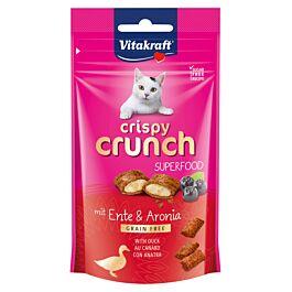 Vitakraft Katzensnack Crispy Crunch Ente & Aronia 60g