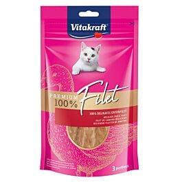 Vitakraft Snack pour chats Premium Filet Canard 54g