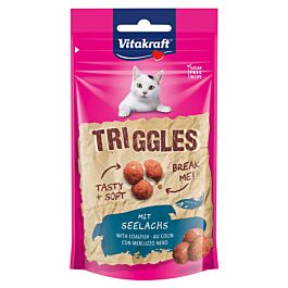 Vitakraft Katzensnack Triggles mit Seelachs 40g