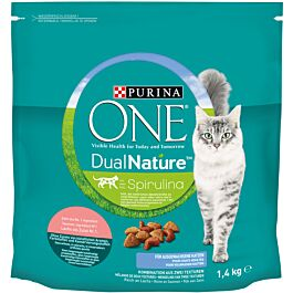 Purina One Trockenfutter Dual Nature Adult Lachs 1.4kg