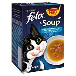 Felix Soup Geschmacksvielfalt aus dem Wasser 6x48g